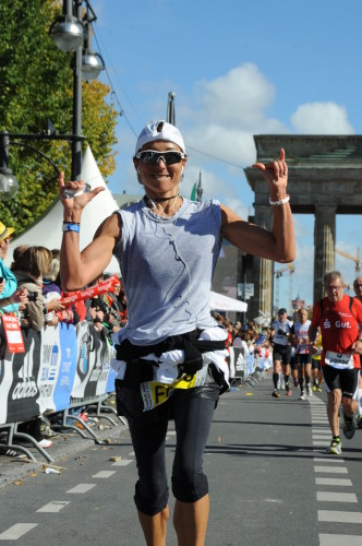 Berlin Marathon Finish line - 2013'