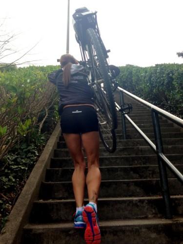 Lyon St. Stairs - Bike